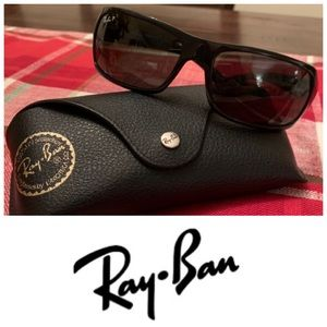 Ray-Ban RB4075 Polarized Black Sunglasses